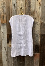 Johnny Was Johnny Was Harriet Button Down Tunic Dress - White
