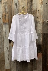0039 Italy Italy Milly Dress - White