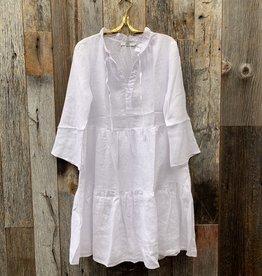 0039 Italy Italy Milly Dress - White