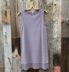 Lilla P Lilla P Seamed Shoulder Dress - Quartz
