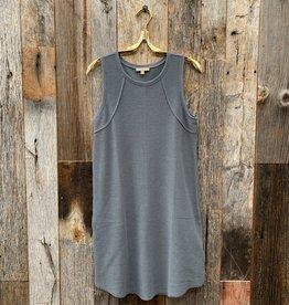 Lilla P Lilla P Tank Dress - Graystone