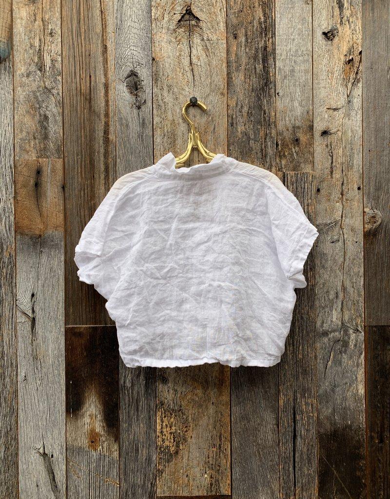 CP Shades CP Shades Linen Minka Top - White