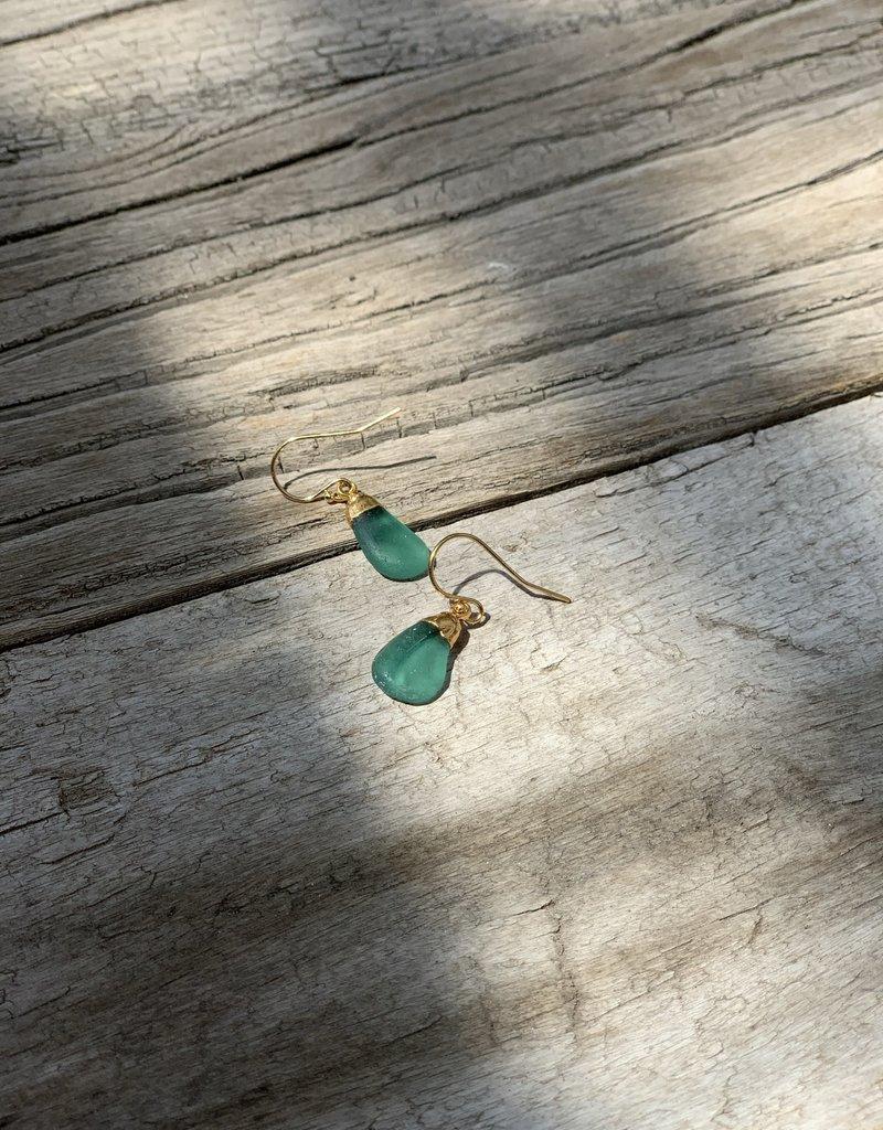Rise Sea Glass Earrings