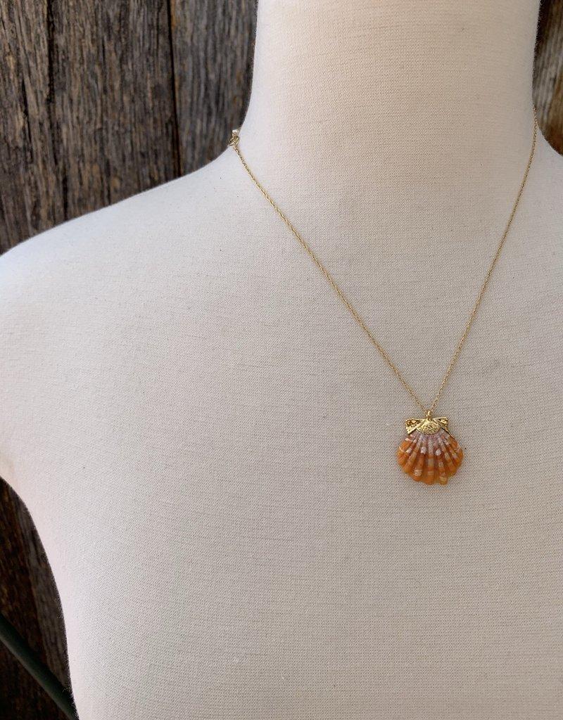 Rise Sunrise Shell Necklace