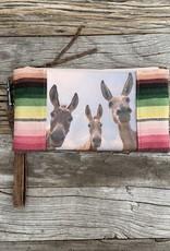 Totem Salvaged Three Donkeys Clutch