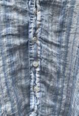 CP Shades CP Shades Petra Linen Top - Blue Stripe
