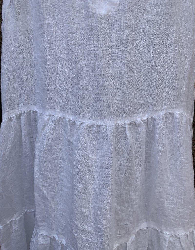 CP Shades CP Shades Gia Linen Dress - White