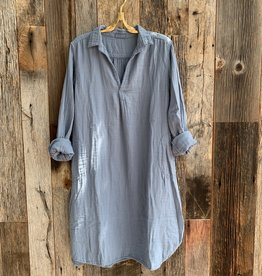 CP Shades CP Shades Lara Double Cotton Dress - Jean