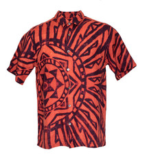 Mai Ka Ho'oku'i, Alaea Red (linen) - Limited Edition