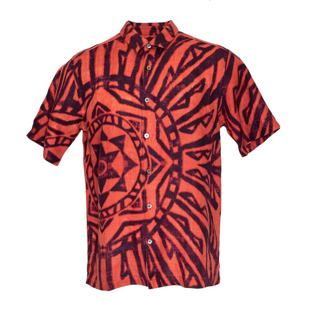 Mai Ka Ho'oku'i, Alaea Red (linen) - Limited Edition