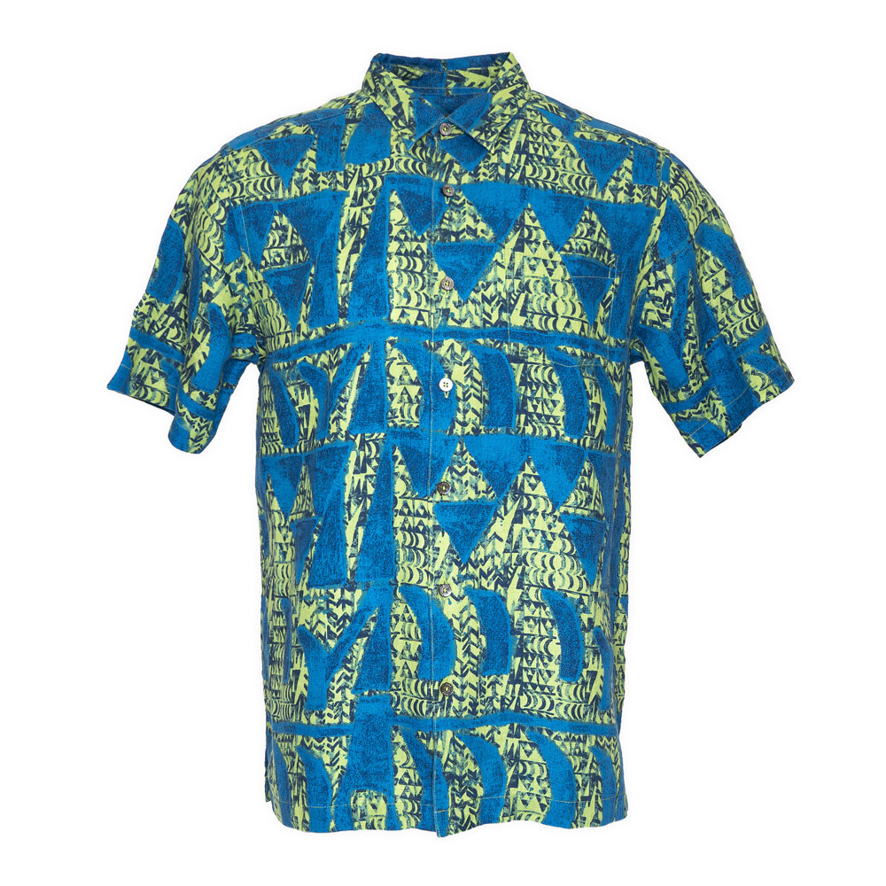 Hoaka, Green Blue (linen) - Limited Edition