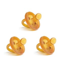 EcoPiggy EcoPiggy Natural Pacifier, 3 Pack