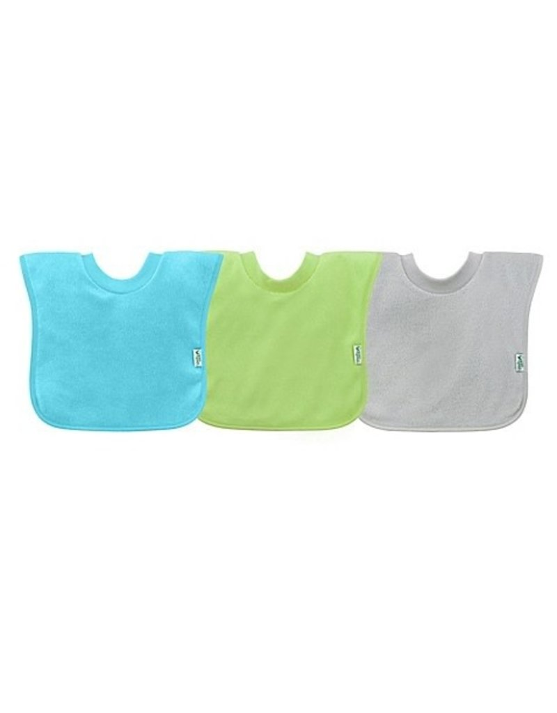 Iplay Pull-over Stay Dry Bib (3 pack) 9 - 18 mos