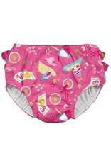 iplay-Mix & Match Ruffle Snap- Reusable Absorbent Swimsuit Diaper