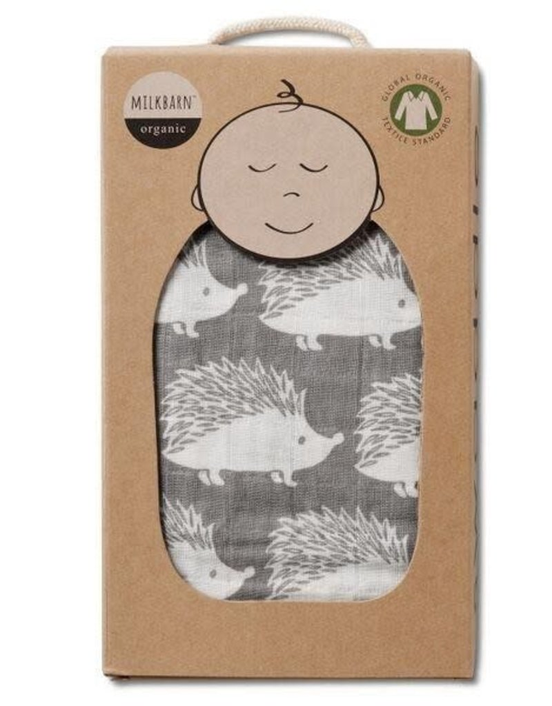 MIlkbarn, Organic Cotton Muslin Swaddle