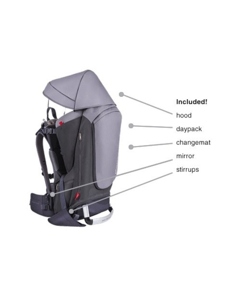 Phil & Teds | Mountain Buggy Phil & Teds- Escape Child Carrier Backpack