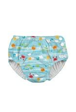 Snap Reusable Absorbent Swimsuit Diaper
