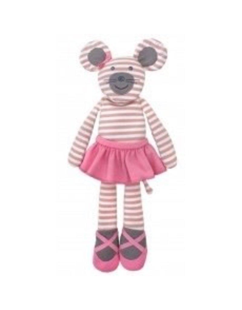 Apple Park, LLC Apple Park-Ballerina Mouse 14? Plush Toy