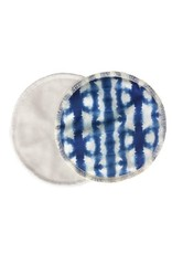 Bamboobies Bamboobies -2 pack Overnight Nursing Pads, Fashion EditionShibori Blue