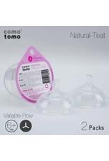 ComoTomo ComoTomo - Y-Cut Flow Nipples - 6+mo