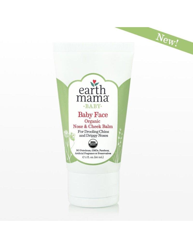 Earth Mama Organics Earth Mama Organics, Baby Face Nose & Cheek Balm