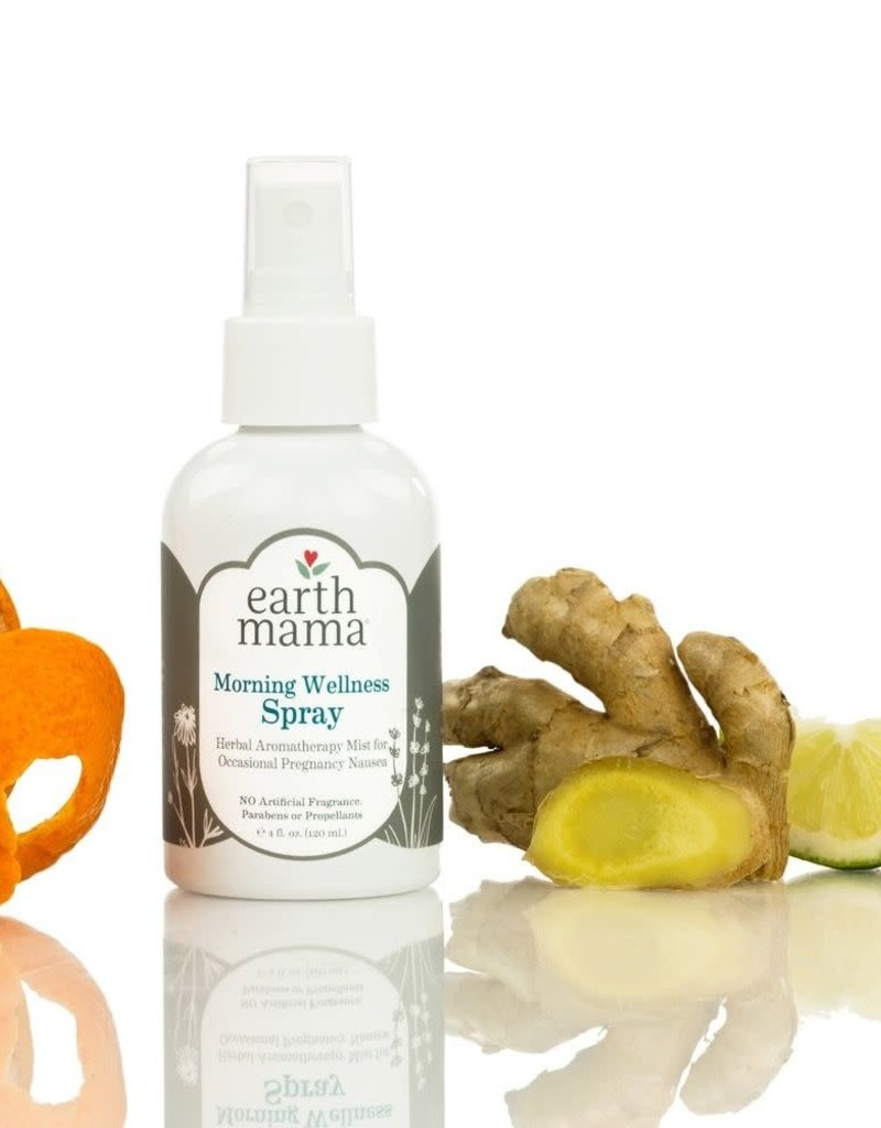 Earth Mama Organics Earth Mama Organics, Morning Wellness Spray 120ml (4 oz):