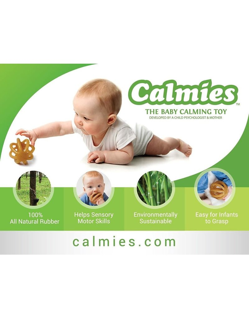 Calmies-the baby calming toy, natural rubber