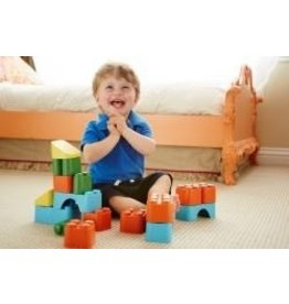 Green Toys Green Toys - Block Set- Assorted colors