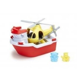 Green Toys Green Toys - Rescue Boat and Helicopter