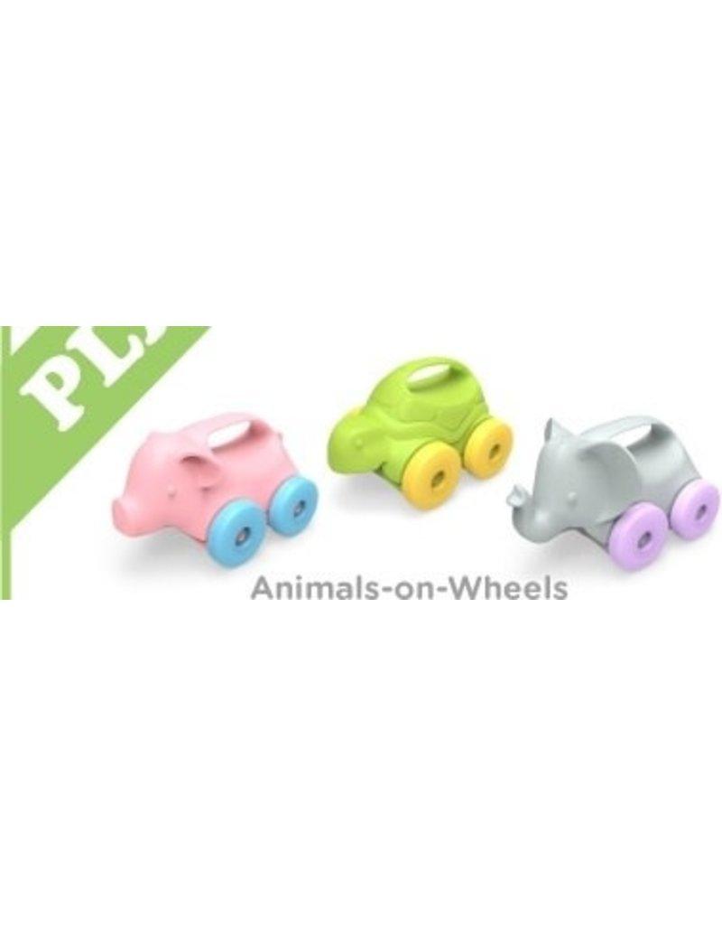 Green Toys Green Toys - Animal on Wheels Assortment