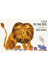 Chronicle Books 1,2,3, To The Zoo by The World of Eric Carle -Flash Cards