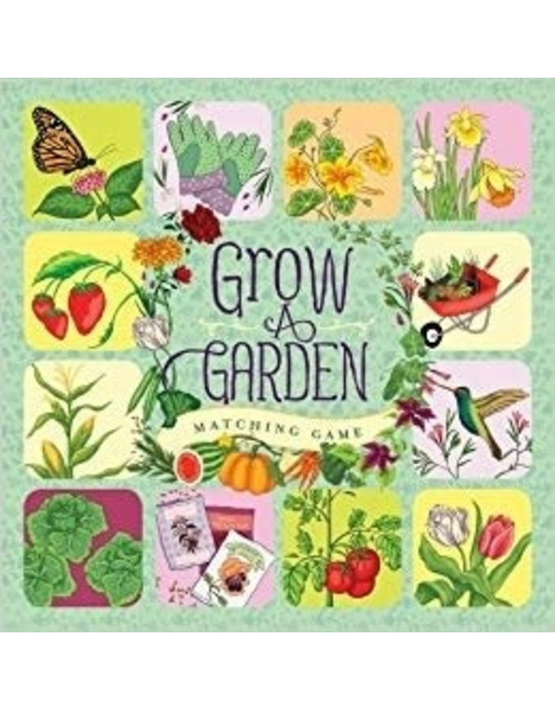 Chronicle Books Grow a Garden Matching Game