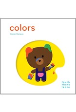 Chronicle Books Touch Think Learn-Colors-by Xavier Deneux
