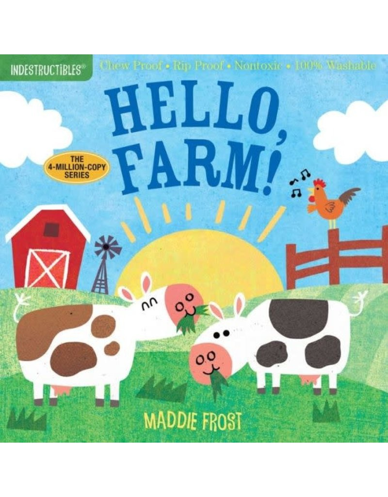 Ingram Indestructables, Hello, Farm! by Maddie Frost