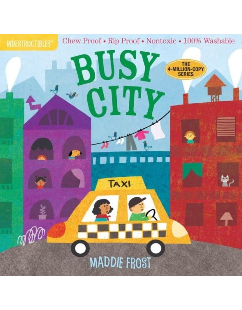 Ingram Indestructables, Busy City by Maddie Frost