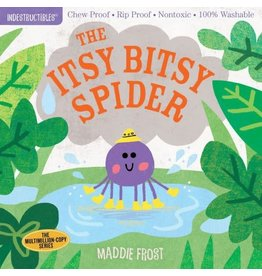 Ingram Indestructables, Itsy Bitsy Spider by Maddie Frost