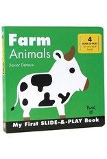 Ingram My First Slide & Play Book, Farm Animals by Xavier Deneux