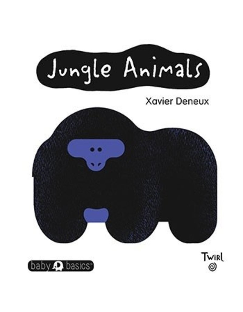 Ingram Jungle Animals, Black and White Board Book by Xavier Deneux