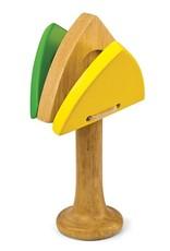 Green Tones, Handle Castanet Triangle