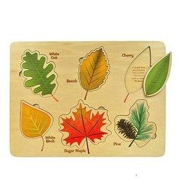 Maple Landmark Maple Landmark-Jigsaw Puzzles Lift & Learn, Leaf