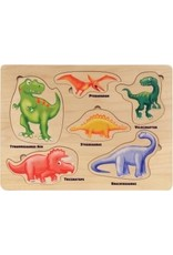 Maple Landmark Maple Landmark-Jigsaw Puzzles Lift & Learn Dinosaurs
