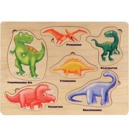 Maple Landmark Maple Landmark-Jigsaw Puzzles Lift & Learn Dinosaurs
