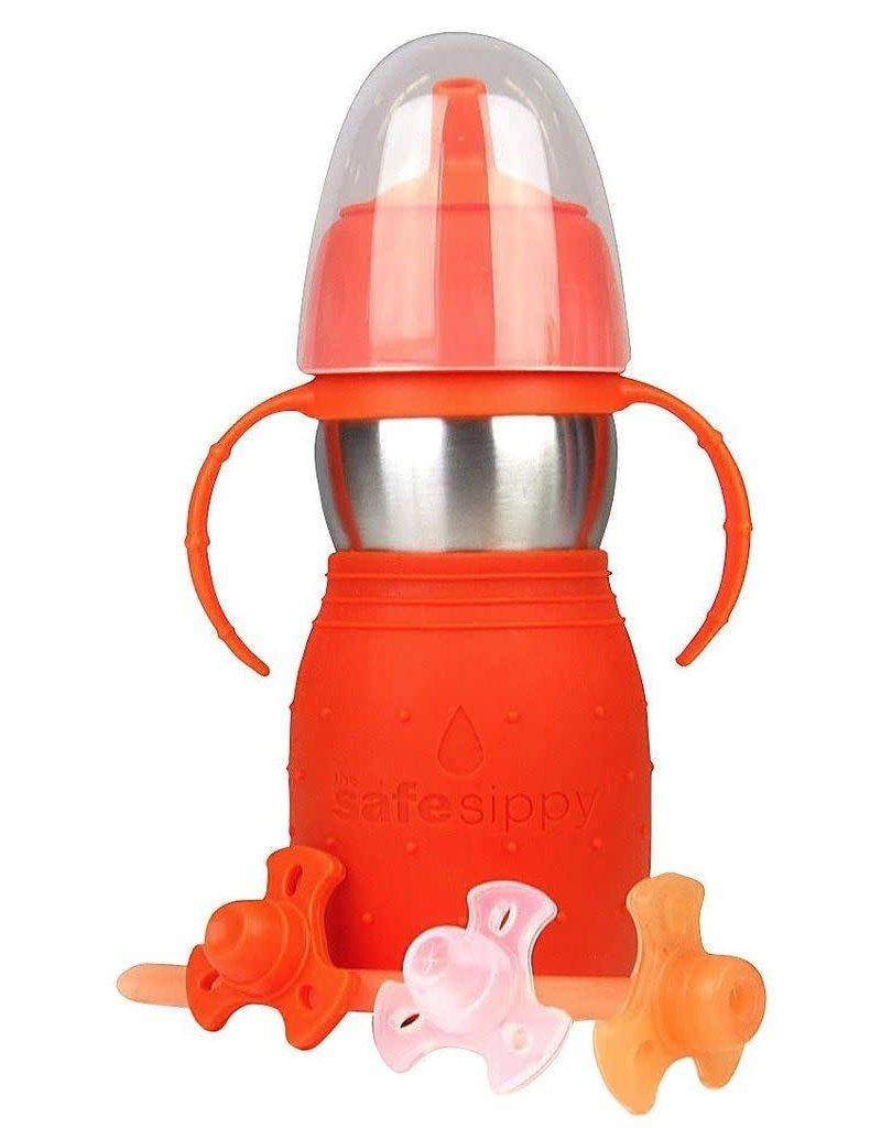 Kid Basix Safe Sippy2, Orange, 11oz