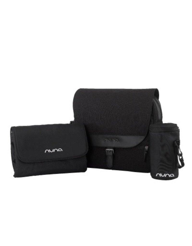 NUNA Nuna, Diaper Bag, Caviar