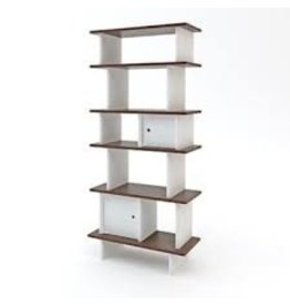 Oeuf Oeuf- Vertical Mini Library Walnut