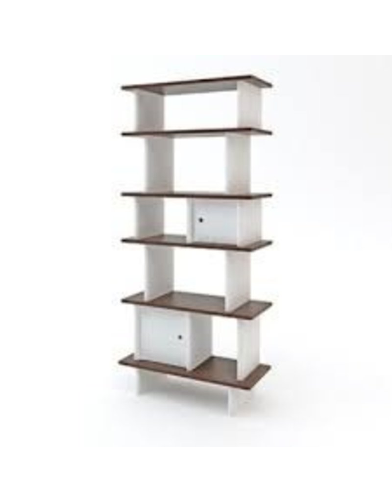 Oeuf Oeuf- Vertical Mini Library Walnut