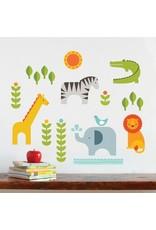 Petitcollage- Fabric Wall Decals-Safari