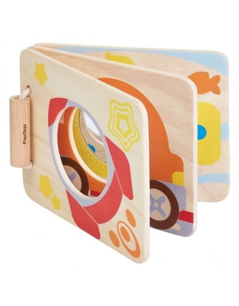 Plantoys PlanToys-Mirror Baby Book