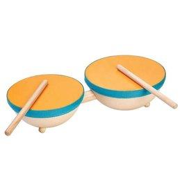 Plantoys PlanToys-Double Drum