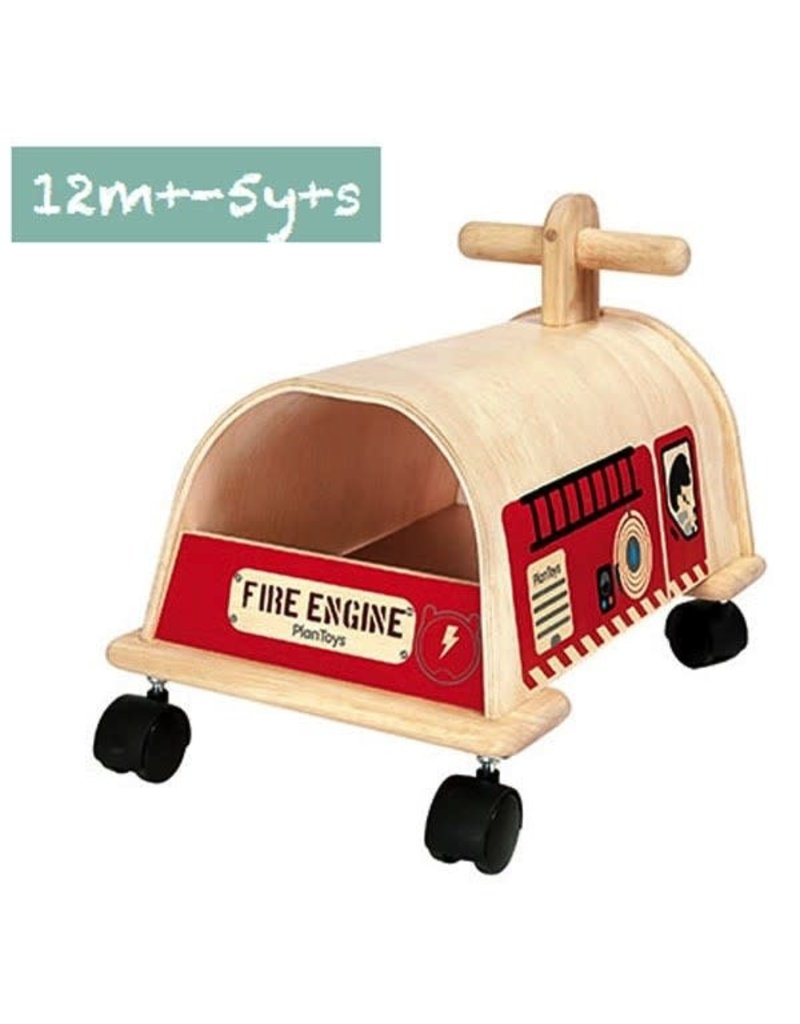 Plantoys Plantoys -Fire Engine, Inch 9.8 x12.0 x15.0